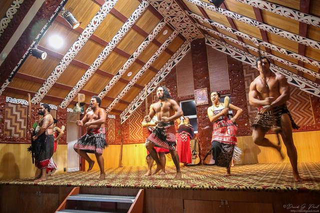 Te Puia - Performing the Haka