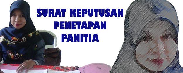 SK Pengangkatan Panitia Pembangunan Asrama Pondok Pesantren