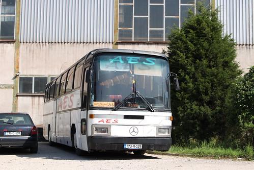 aes bus coach t73m129 mercedesbenzo303