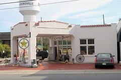 Vintage Corner Gas Station