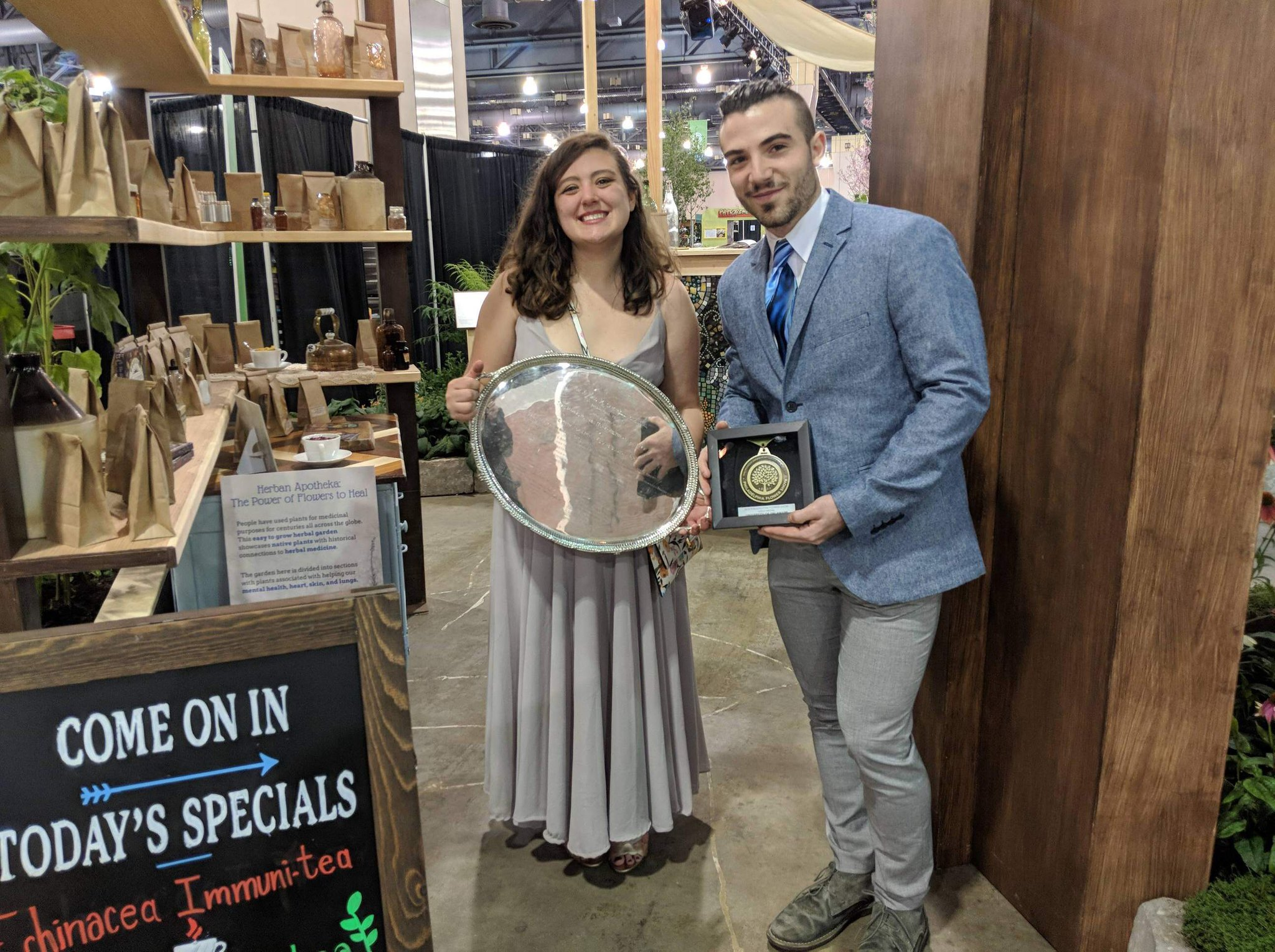Design Articulture Club takes home gold at The Philadelphia Flower Show