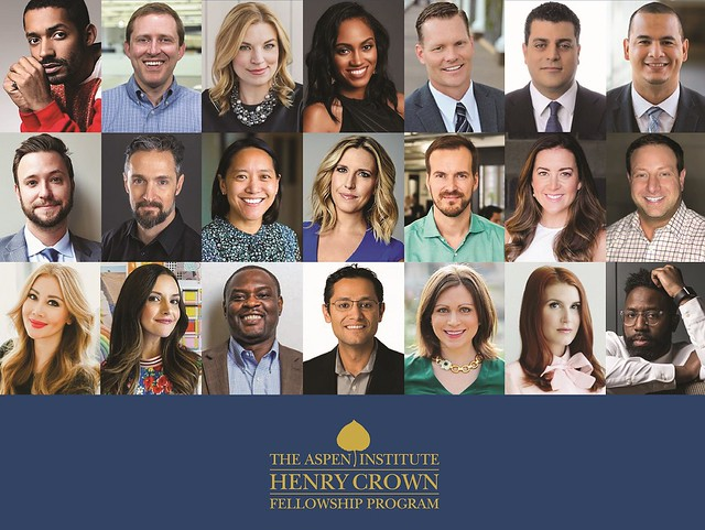 Our Own Sarah Bird Joins the 2019 Class of Henry Crown Fellows!
