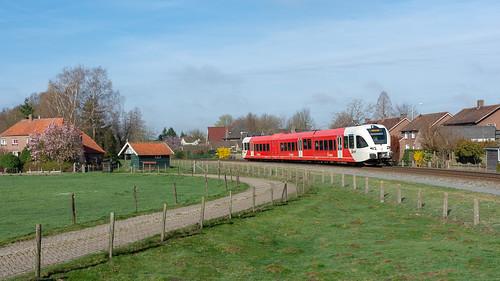 Varsseveld Arriva GTW 367 naar Winterswijk