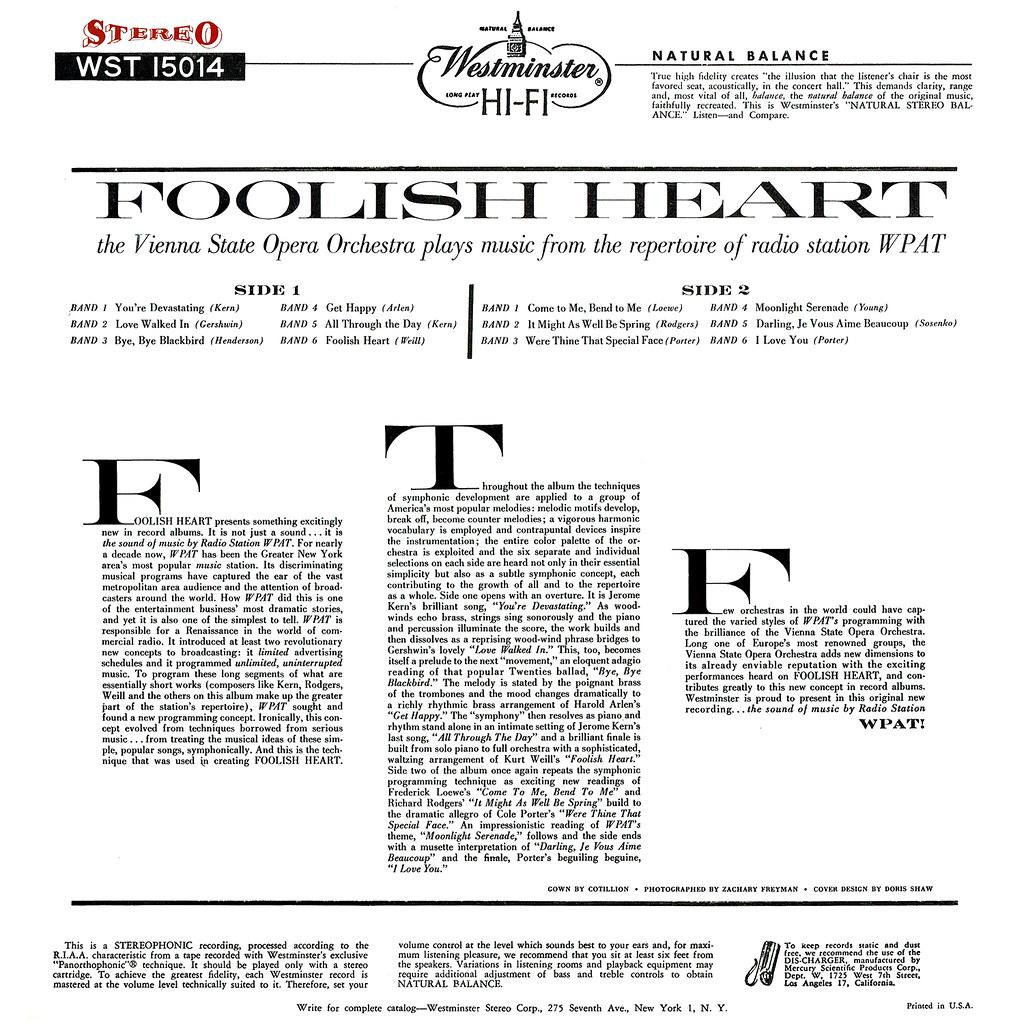 Various Artists - Foolish Heart