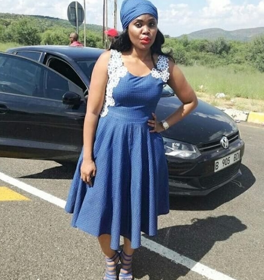 SHWESHWE DRESSES 2019 AFRICAN WOMAN STYLES