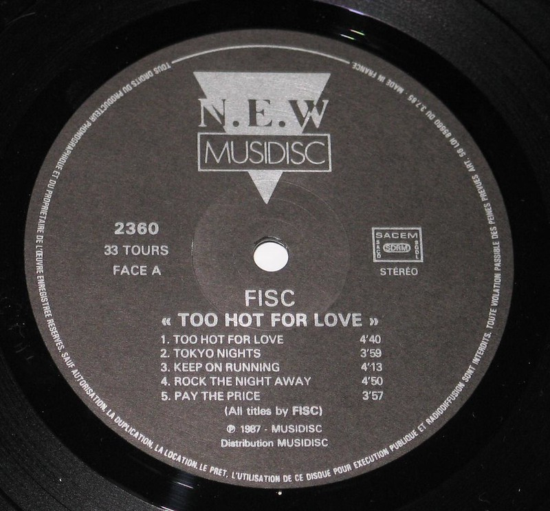 FISC - Too Hot For Love