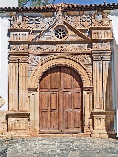 Espagne, l'île de Fuerteventura, l'église Nuestra Senora de la Regla de Pajara