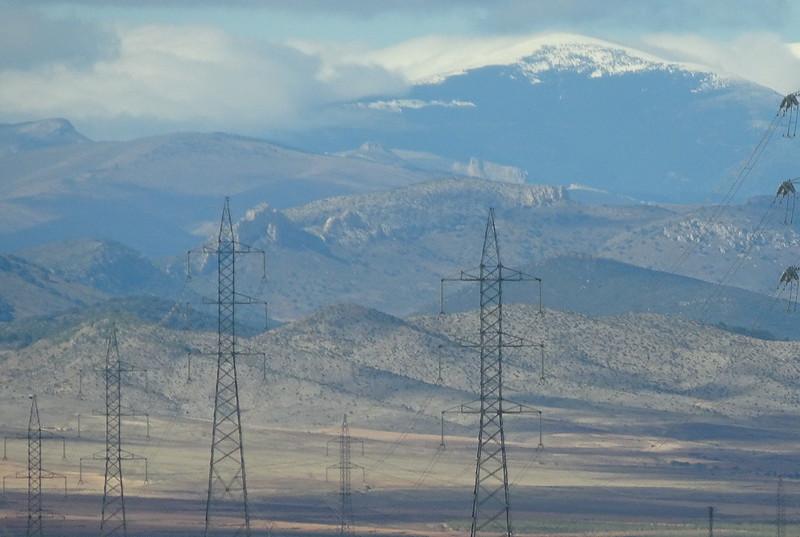 Eléctricas pilonas