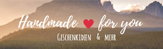 Handmade for you Banner