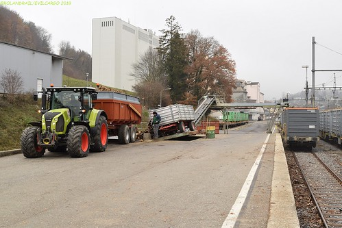 Claas Arion 550 @ Cossonay