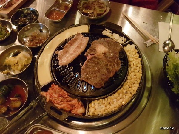 Daldongnae Korean BBQ food