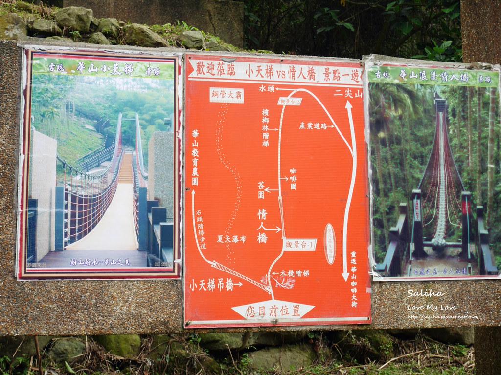 雲林古坑一日遊景點推薦華山小天梯情人橋 (7)