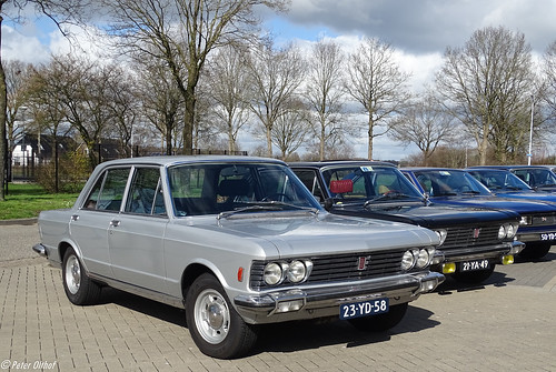 6x FIAT 130 3200