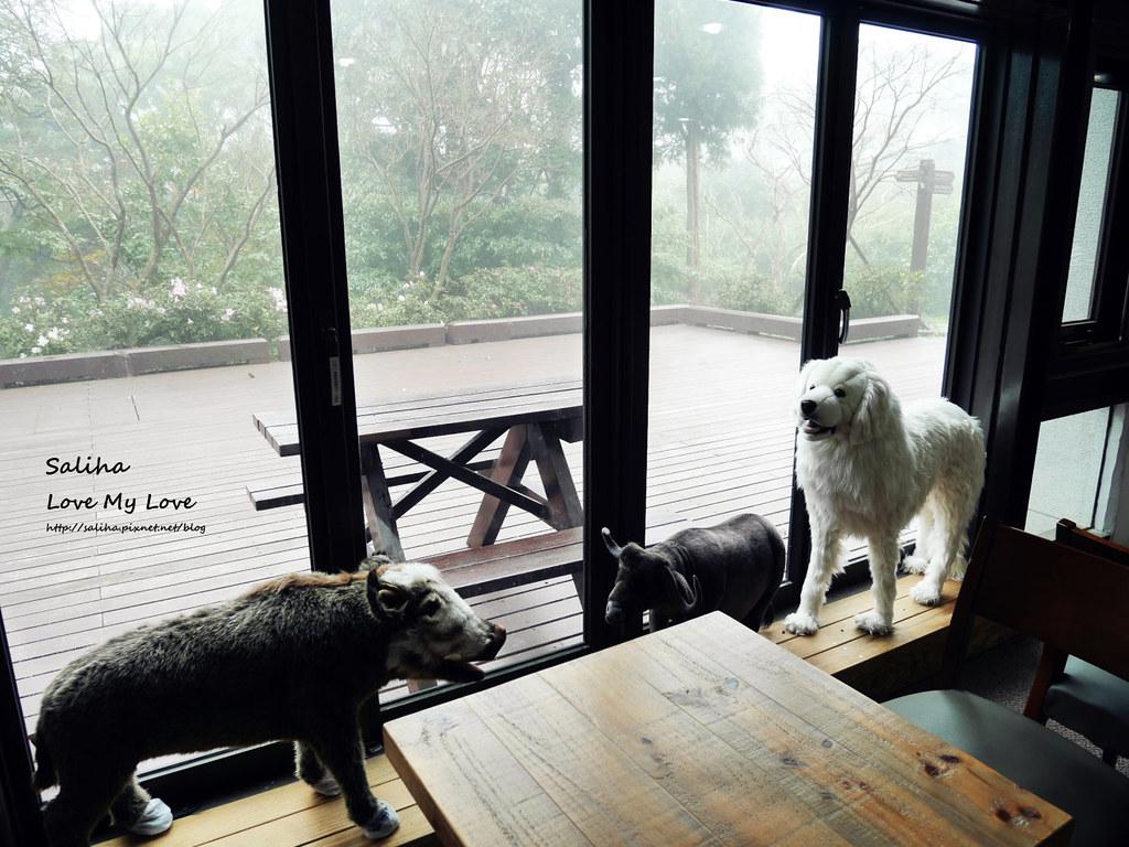台北陽明山遊客服務中心親子動物餐廳咖啡廳下午茶推薦石尚自然探索屋  (5)