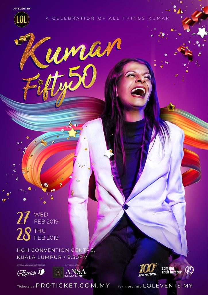 Kumar Fifty50 Nationwide Tour 2019