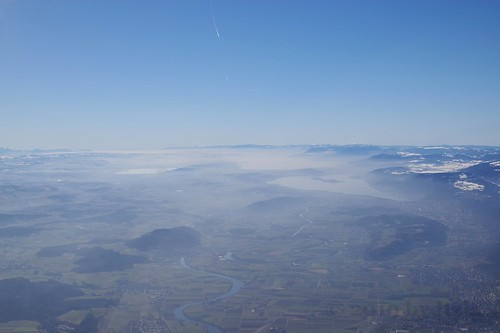beautiful misty switzerland
