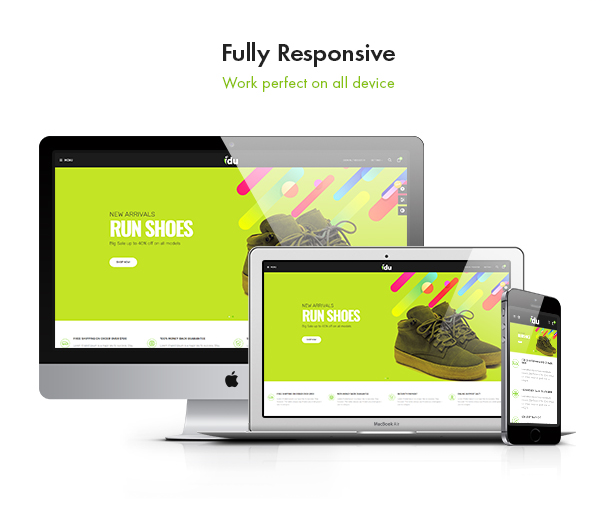 Bos Idu Prestashop Shoes Theme - Fully Responsive
