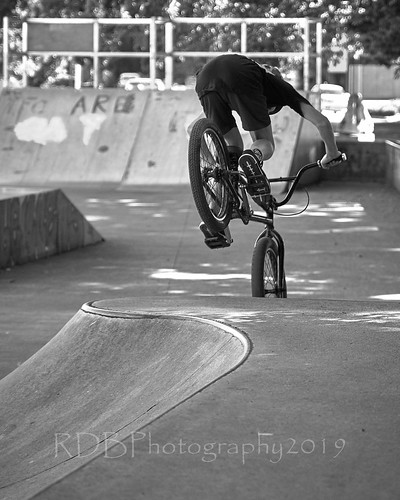 NZ Travels  - Matamata BMX cyclist 07