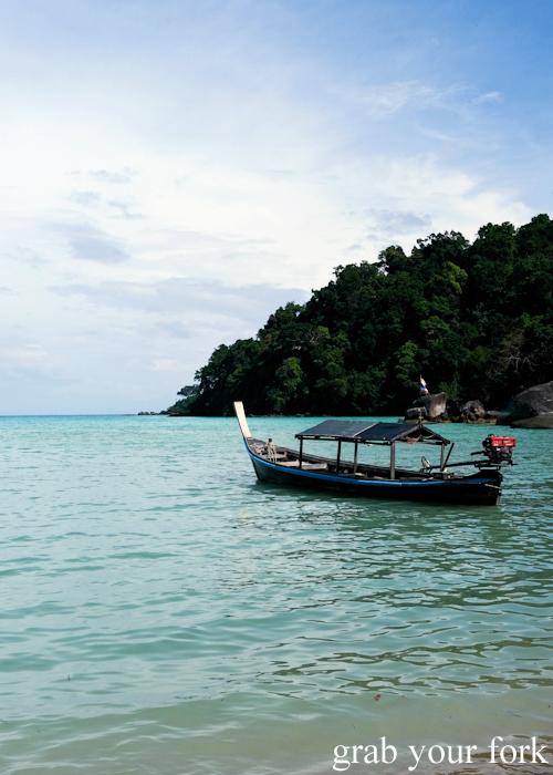 Longtail boat in Surin Island, Khao Lak, Thailand