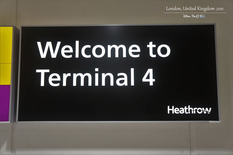 2018 Heathrow London Airport Terminal 4