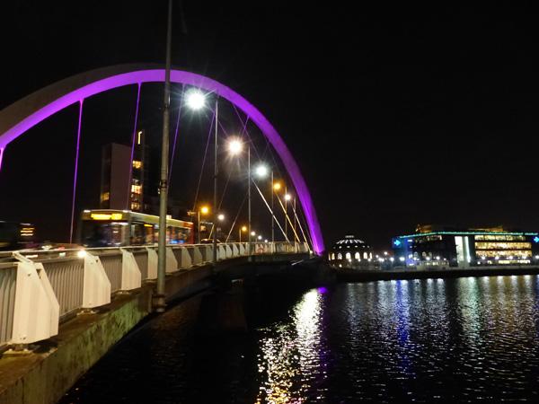 le pont de la Clyde
