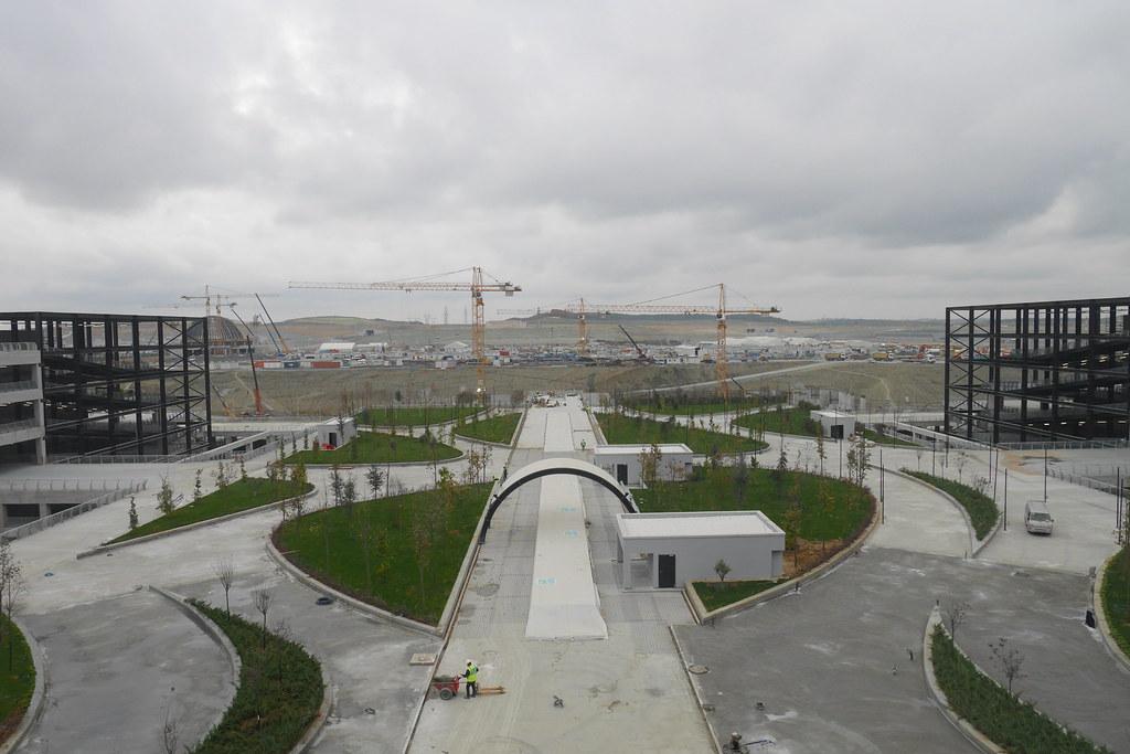 伊斯坦堡新机场-停车场