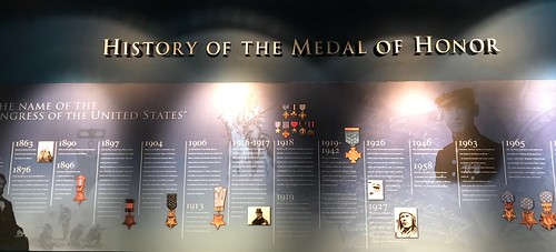 Patriots Point Medal of Honor Exhibit. From History Comes Alive in Charleston