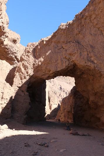 The Natural Bridge at Death Valley