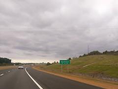 Southaven destination sign on 269