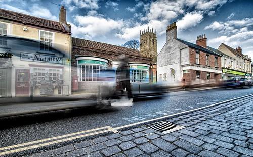Town centre blur