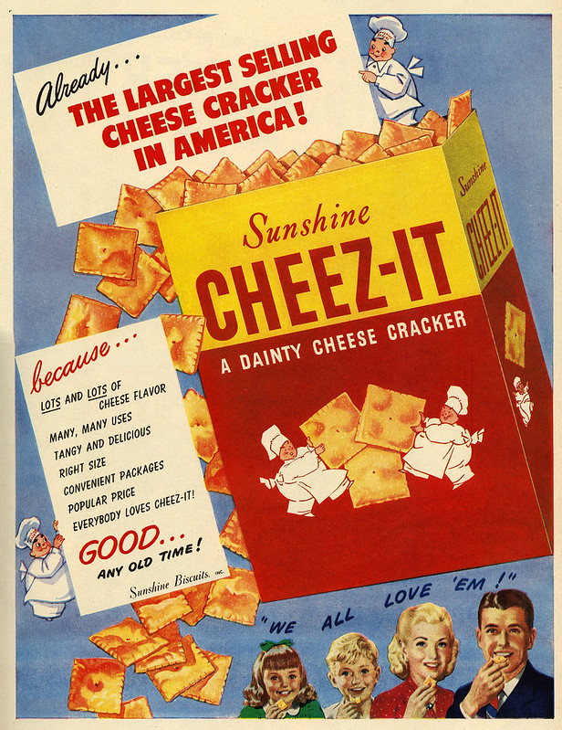 Sunshine, Cheez-It 1948