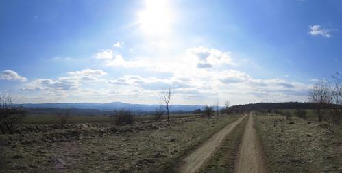 20110320 0207 288 Jakobus Weg Bäume Feld Weite Wolken_P01