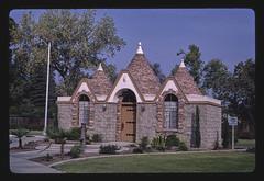 Memorial Park Building, Main Street, Visalia, California (LOC)