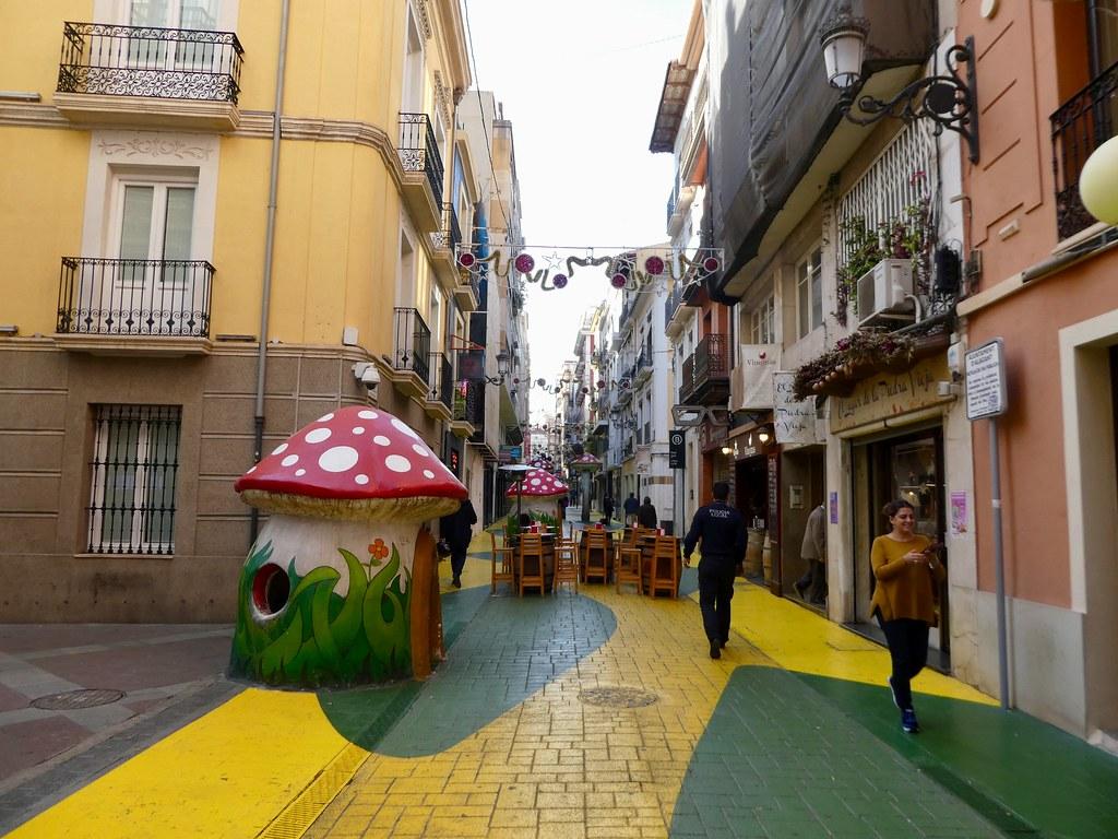 Calle San Fransisco, Alicante