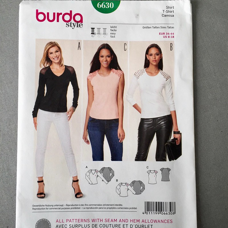 Burda 6630 envelope