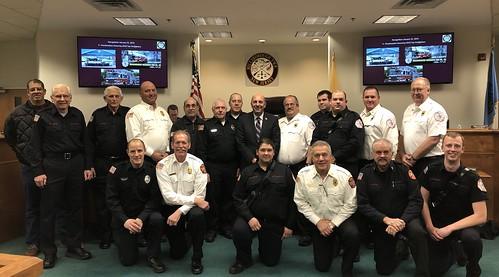 Top fire responders