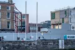CONSTRUCTION SITE ON ORMOND QUAY [ NEW ORMOND HOTEL]-148766