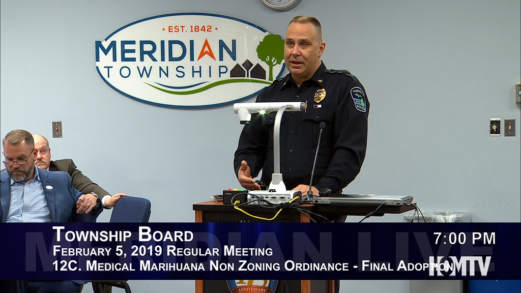 Medical Marihuana Non-Zoning Ordinance Discussed at Township Board Meeting