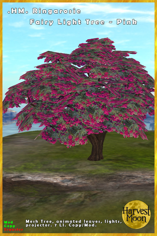 Harvest Moon - Ringarosie Fairy Lights Tree - Pink - TeleportHub.com Live!