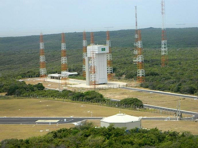 Brazil's Alcântara space base is located in Maranhão, near the equator - Créditos: Space Agency/Handout