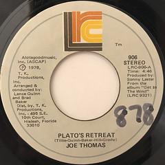 JOE THOMAS:PLATO'S RETREAT(LABEL SIDE-A)
