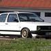 White VW Golf Mk2