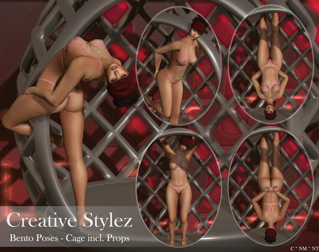 Creative Stylez – Bento Poses – Cage –