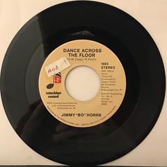 JIMMY BO HORNE:DANCE ACROSS THE FLOOR(RECORD SIDE-A)