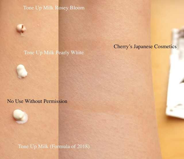 UV expert tone up milk 2019 2018
