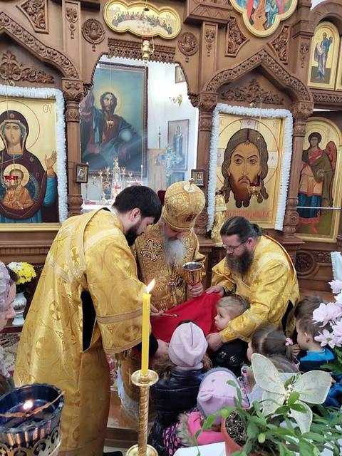 Архиерейская литургия 17.02.2019
