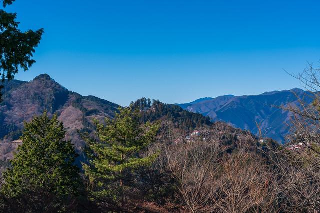 奥ノ院と御岳山@日の出山