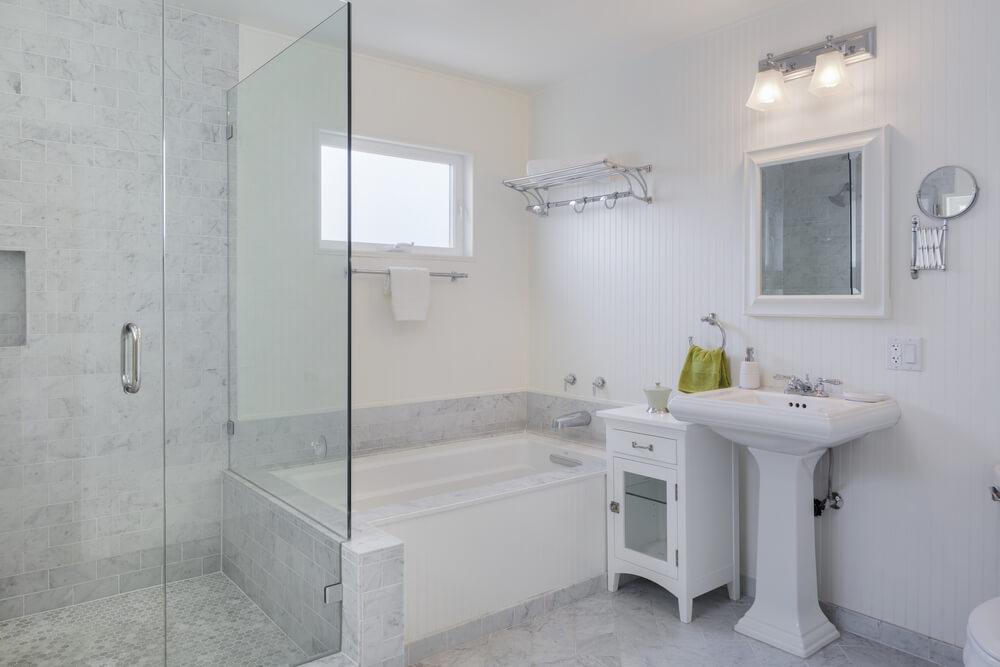 desain ruang shower pada kamar mandi