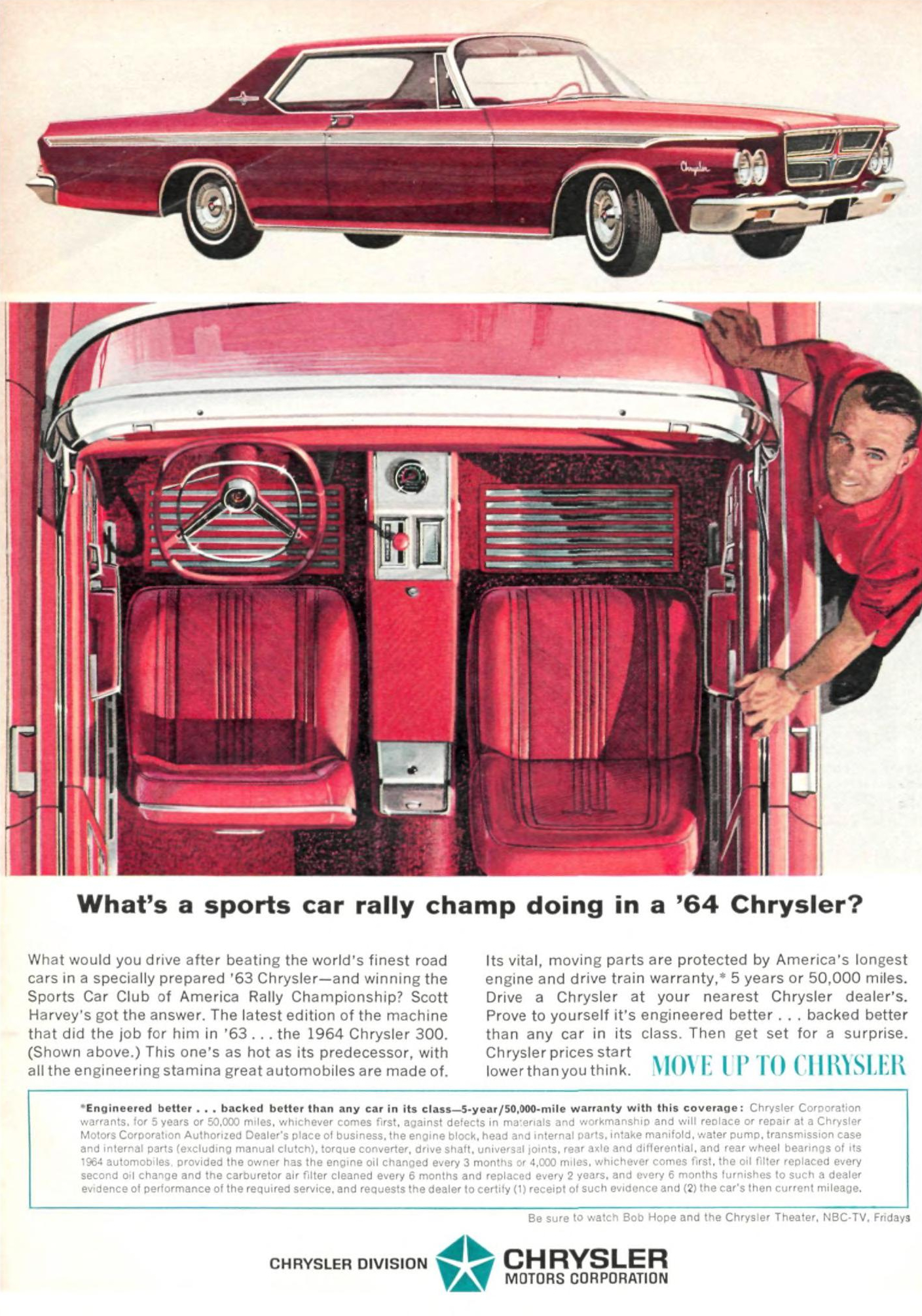 1964 Chrysler 300 - published in Sports Illustrated - March 16, 1964