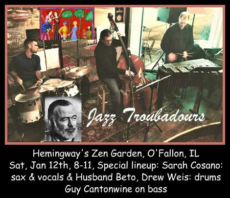 Jazz Troubadours 1-12-19